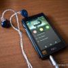 L'X5 con il cavo bilanciato Fiio collegato alle Noble Audio Savant